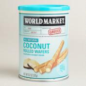 World Market® Coconut Rolled Wafer Cookies