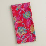 Pink Floral Rania Kitchen Towel