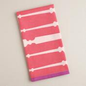 Pink Utensil Kitchen Towel