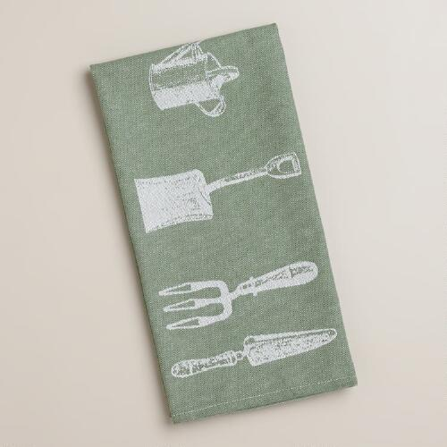 Cottage Garden Kitchen Towel