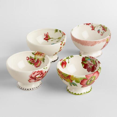Nomad Flower Bowls, Set of 4