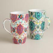 Marrakesh Mugs, Set of 2