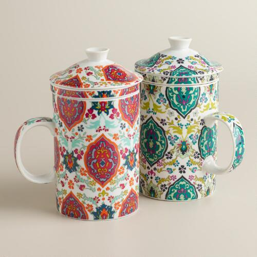 Marrakesh Infuser Mugs, Set of 2
