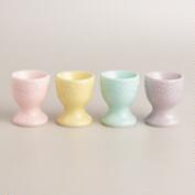 Pastel Egg Cups, Set of 4