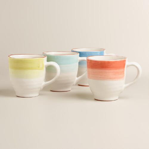 Ombre Mugs, Set of 4