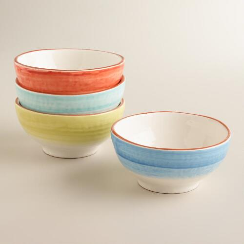 Ombre Bowls, Set of 4
