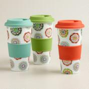 Balloon Non-Paper Cups, Set of 3