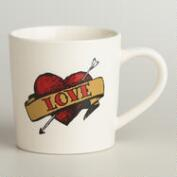 Love Tattoo Mug