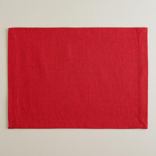 Chili Pepper Khadi Placemats, Set of 4