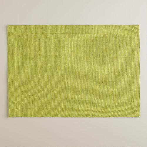 Green Oasis Khadi Placemats, Set of 4