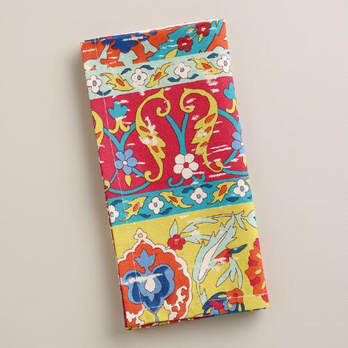 Patchwork Istanbul Napkins, Set of 4