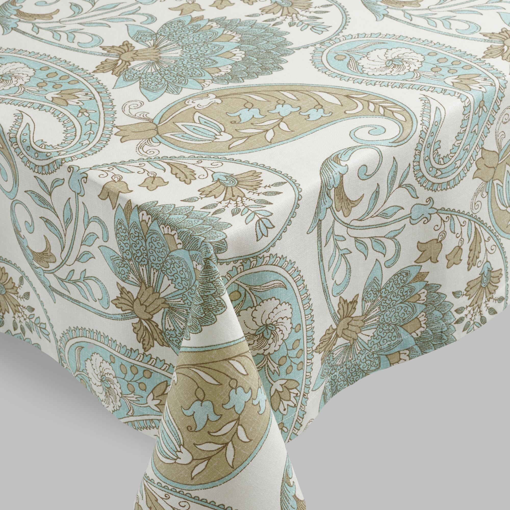 Customizable full color Paisley tablecloths from Zazzle - Pick your favorite Paisley table cloths from thousands of available designs! Blue Paisley Tablecloth. $ 15% Off with code WEDNESDAYWOW. Funky Paisley Fabric Tablecloth. $ 15% Off with code WEDNESDAYWOW. orange paisley tablecloth.