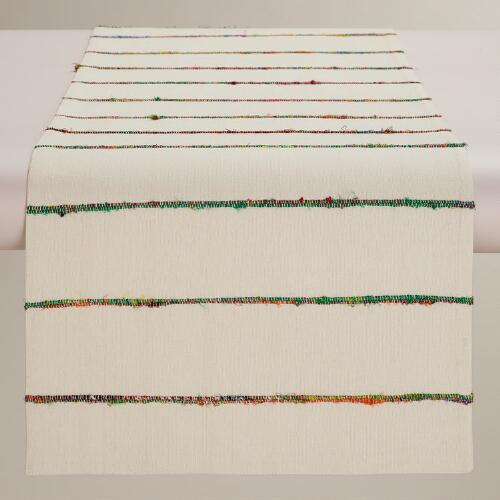 Sari Slub Nomad Table Runner
