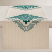 Bliss Embroidered Table Runner