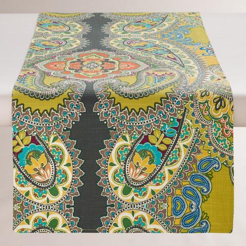 Venice Paisley Table  Runner