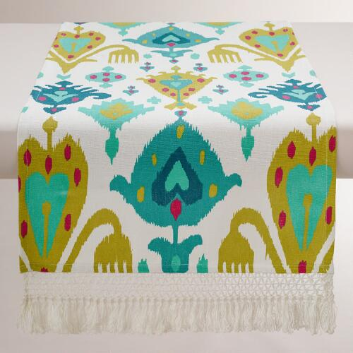 Ikat Aberdeen Table Runner