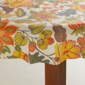 Floral Henri Round Oilcloth Tablecloth