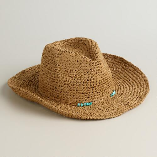 Turquoise Bead Cowboy Hat