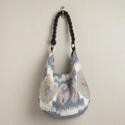 Chambray Ikat Bag