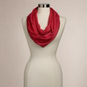 Light Red Infinity Pashmina