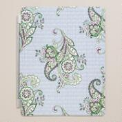 Mint Kai Floral iPad Cover