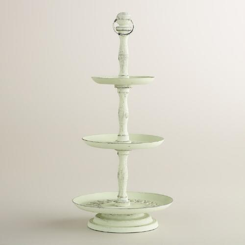 Mint Green 3-Tier Jewelry Stand
