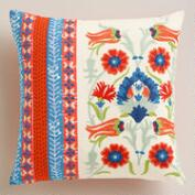 Embroidered Istanbul Throw Pillow