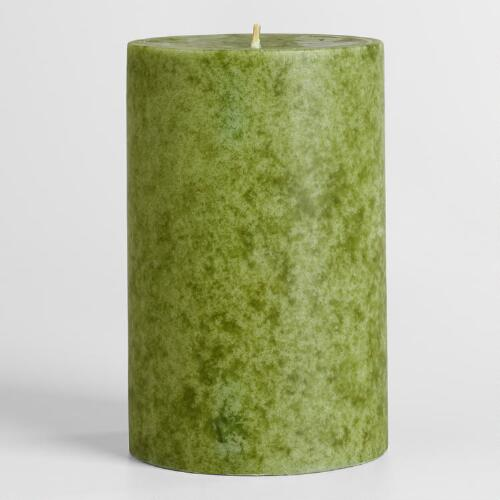 "4"" x 6"" China Pear Pillar Candle"