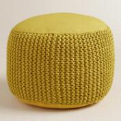 Green Indoor-Outdoor Pouf