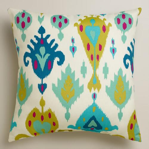 Aqua Aberdeen Outdoor Throw Pillow