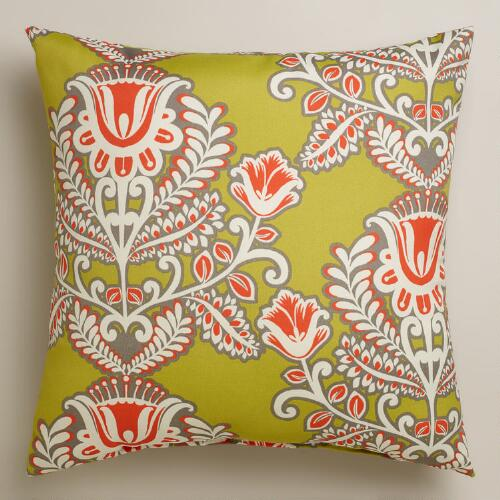 Summer Goddess Outdoor Throw Pillow