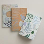 Botanist Secret Kraft Journals, 3-Pack