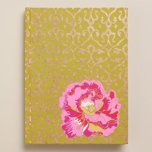 Omar Print Flower Handmade Journal