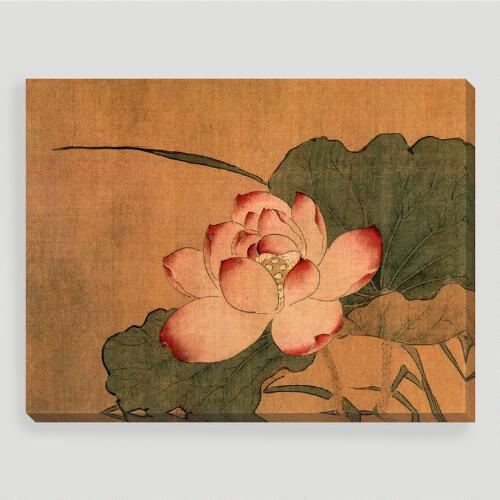 Pink Lotus Wall Art