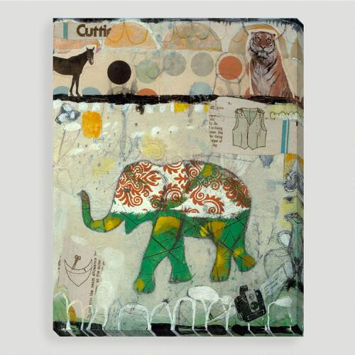 """Elephant Pattern"" by Judy Paul"