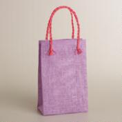Lupine Purple Woven Gift Bag