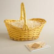 Yellow Gift Easter Basket Kit