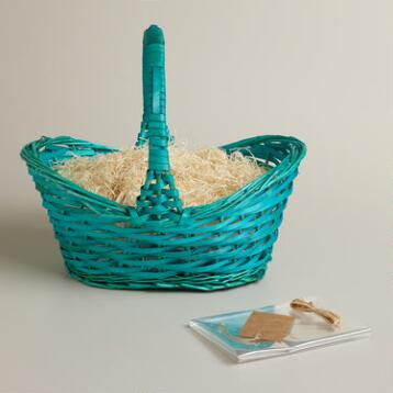 Aqua Gift Easter Basket Kit