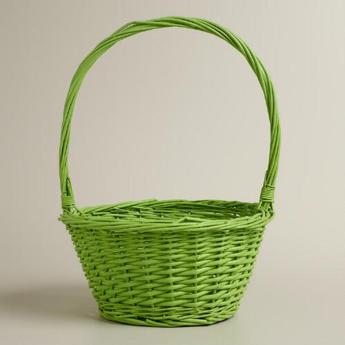Apple Green Ellie Willow Easter Basket