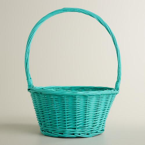 Aqua Ellie Willow Easter Basket