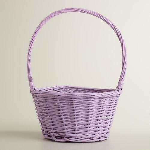 Lupine Purple Ellie Willow Easter Basket