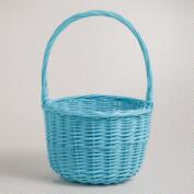 Small Turquoise Sarah Willow Easter Basket
