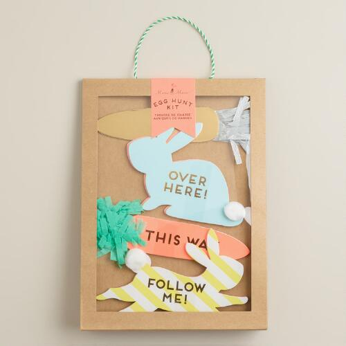 Happy Easter Egg Hunt Signs Kit