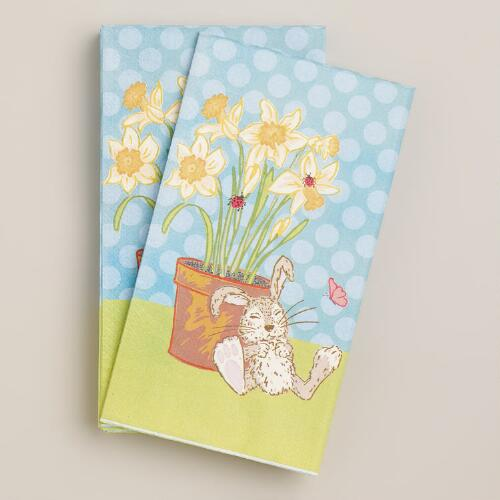 Easter Bunny Guest Napkins, 16-Count