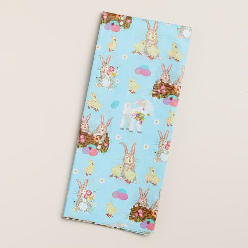Easter Bunnies Tissue Paper, 4-Count