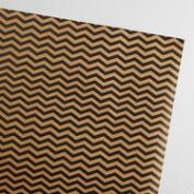 Chevron Kraft Wrapping Paper Roll