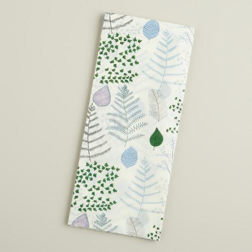 Lakehouse Leaves Tissue Paper, 4-Count
