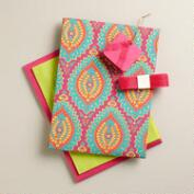 Pink Paisley Fabric Gift Box Kit