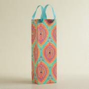 Turquoise Medallion Handmade Wine Bag