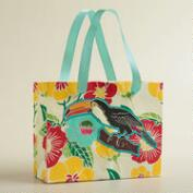 Large Toucan with Glitter Handmade Gift Bag